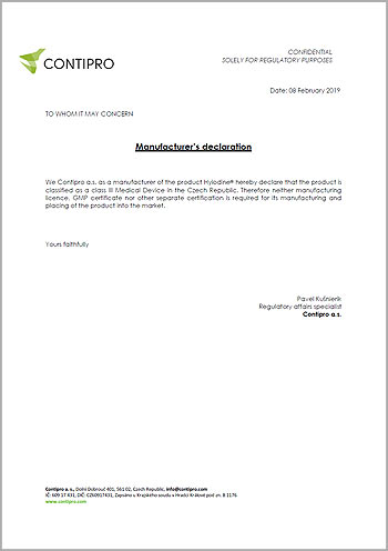 Hyiodine-declaration_no-manufacturing-licence