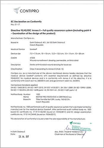 Sorelex Directive 93/42/EEC Annex II – Full quality assurance system